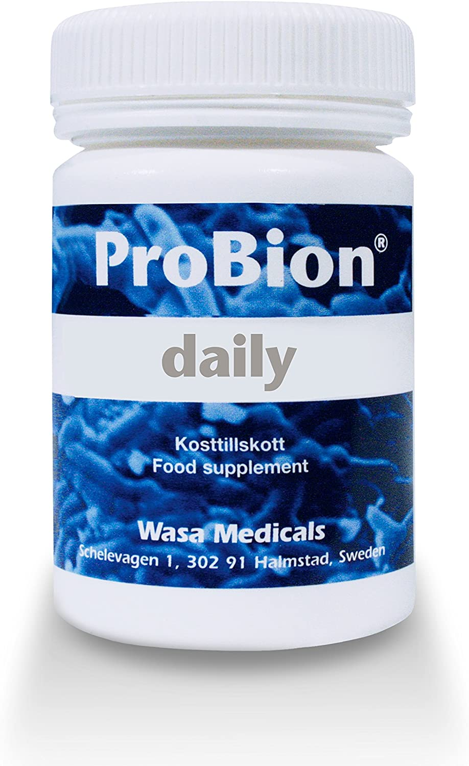 ProBion Daily, Normal Digestion Reduces Irregularities Daily. High Strength Time Release Swedish Probiotics Tablets with Multi Strain Lactobacillus Acidophilus Bifidobacterium 150 Tablets
