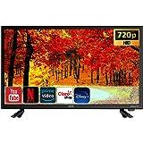 Smart TV LED de 24 pulgadas, clase 720P HD (100012590) (Renewed)
