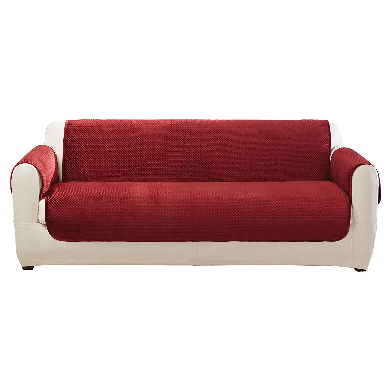 Admirable Amazon Com Sure Fit Elegant Pick Stitch Sofa Furniture Machost Co Dining Chair Design Ideas Machostcouk