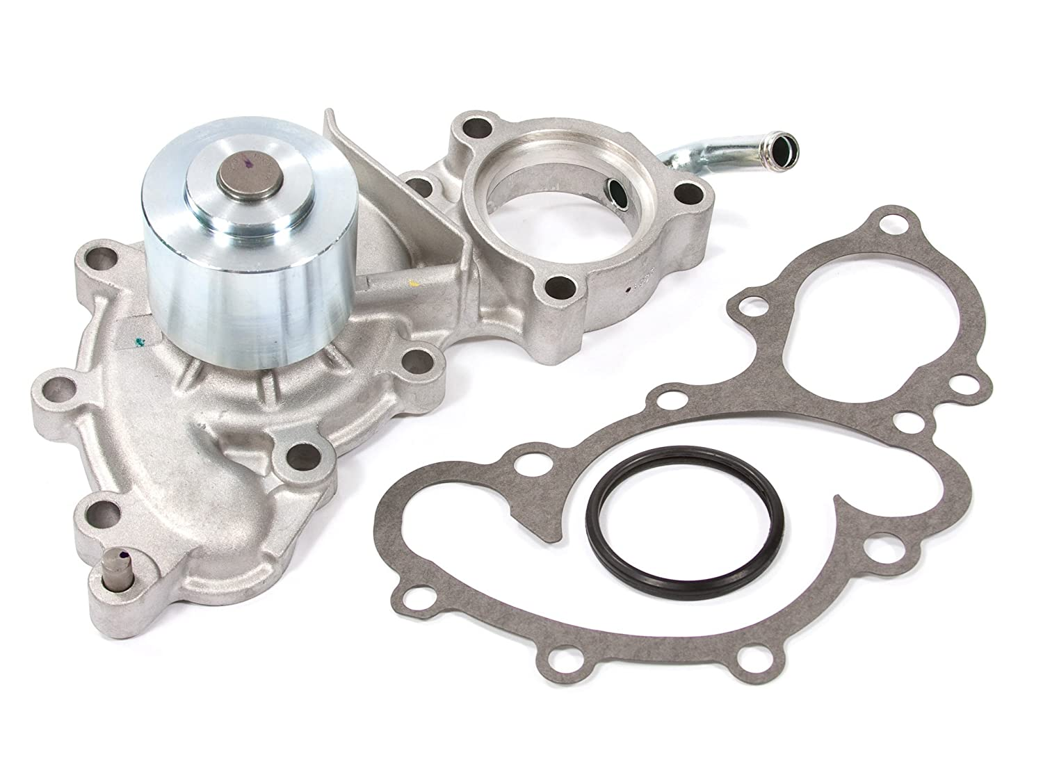 Evergreen Tbk154wpt 88 92 Toyota 4runner Pickup 30 Sohc 3vze Timing Belt Tensioner Kit Water Pump With Outlet Pipe Automotive