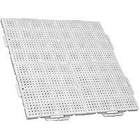 TERRAGUIDE Sun Placas para Suelo/terraza 1m², 4 Unidades
