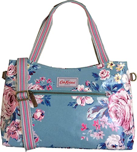 a43f86dcae93d Cath Kidston Hampstead Rose Shoulder Zipped Bag with Removable Strap