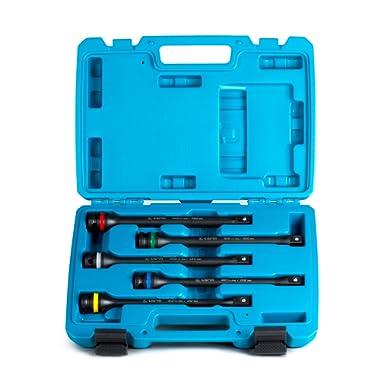 Capri Tools 30083 Torque Limiting Extension Bar Set (5 Piece), 65-140 ft. lbs., 1/2 in. Drive