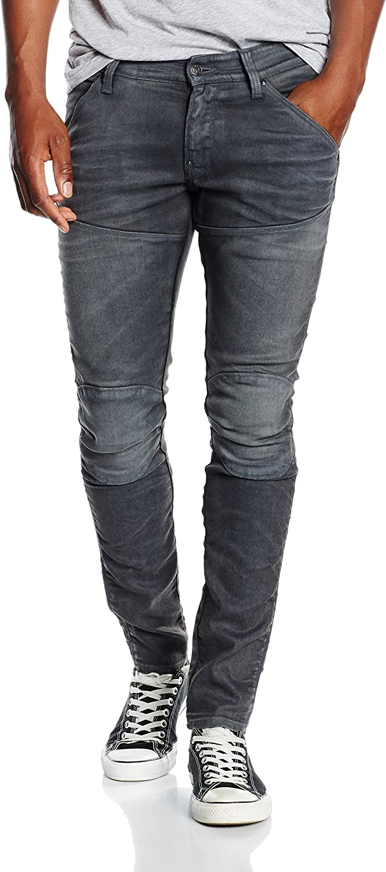 Jean skinny taille moyenne 5620 elwood dk aged cobler G Star