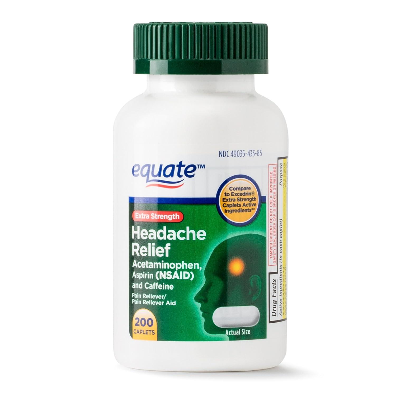 Amazon Com Equate Extra Strength Headache Relief Compared To