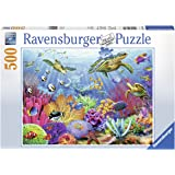 Ravensburger Tropical Waters 500 Piece Jigsaw Puzzle Adults – Every Piece is Unique, Softclick Technology Means Pieces Fit Together Perfectly