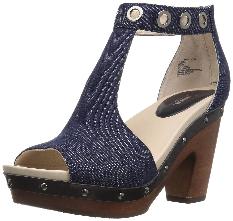 Jambu Women's Sheila Platform Dress Sandal B01IFFIQVQ 7 B(M) US|Denim