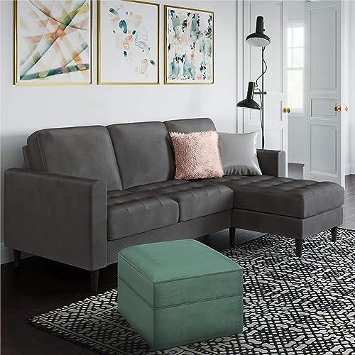 Best living room sofa: CosmoLiving Strummer Modern Reversible Sectional Couch Upholstered