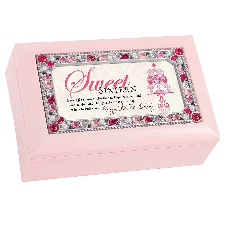 熱い販売 Sweet - 16 Jewelled Pink Jewellery Music Box - Plays My Up Tune You Light Up My Life B00U1Q9X7O, 電子タバコ雑貨の卸問屋 伊賀屋:67761d32 --- arcego.dominiotemporario.com