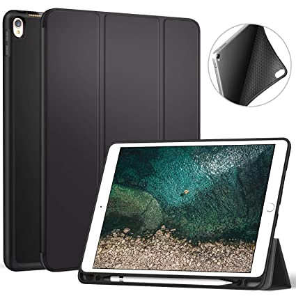 Amazoncom Ztotop Ipad Pro 105 Case With Pencil Holder Ultra Slim
