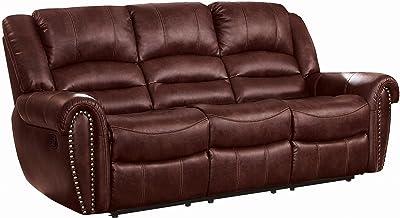 Amazon Com Signature Design By Ashley 7540715 Warnerton Power Reclining Sofa