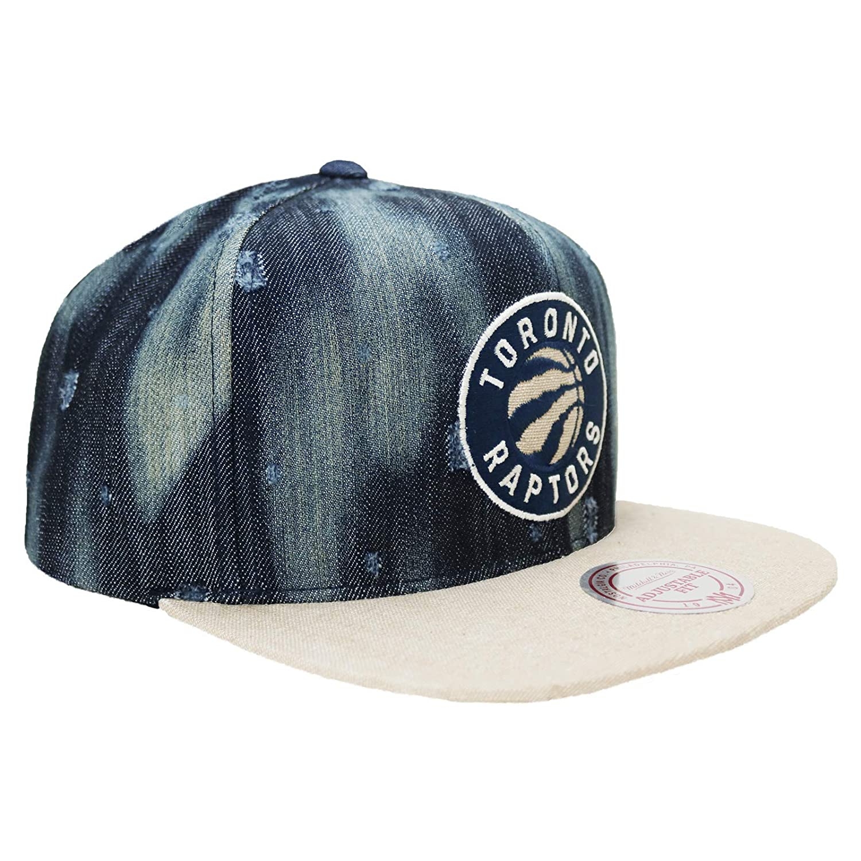 Mitchell   Ness Toronto Raptor Torn Denim Snapback Hat at Amazon Men s  Clothing store  567aa1c52d6