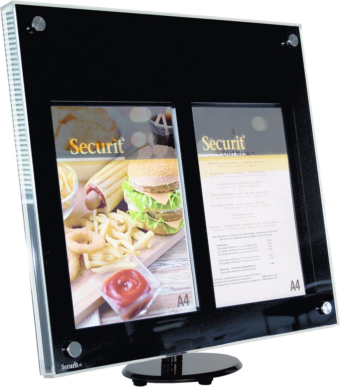 LED Securit-Bacheca espositiva per esterni per Menu//informazioni in acrilico