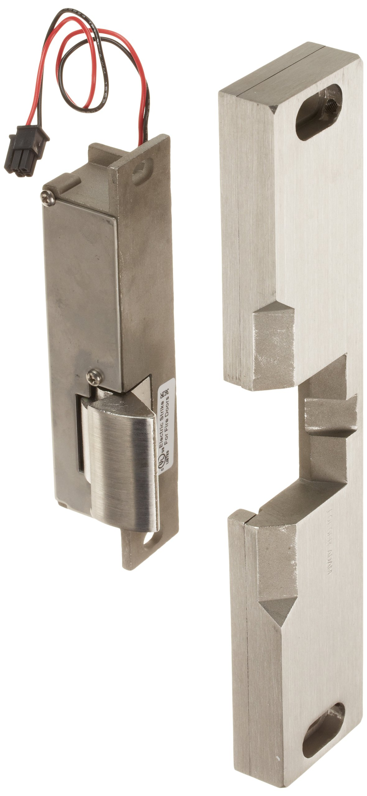 HES 18103729 310 4 Folger Adam Electric Strikes, Grade 1, Fail Secure, Satin Stainless Steel