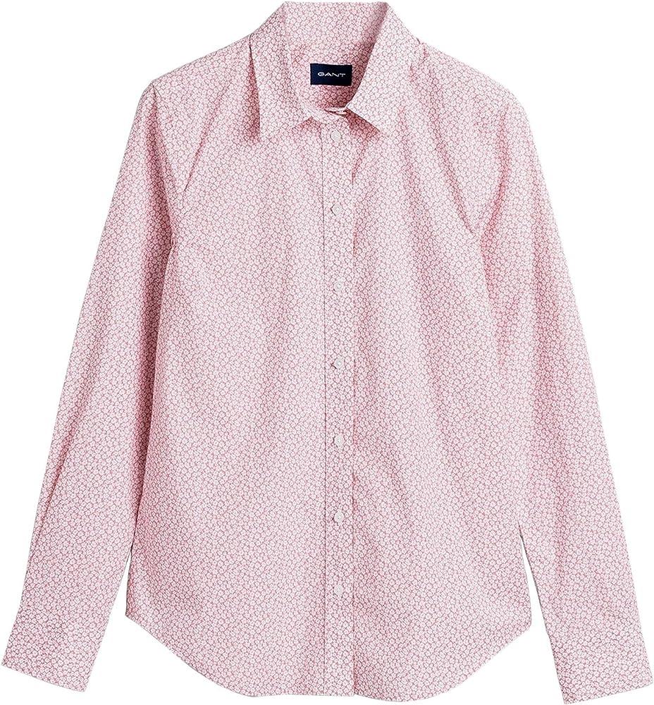 GANT - Camisa para mujer con estampado de flores Rosa. 44: Amazon.es: Ropa y accesorios