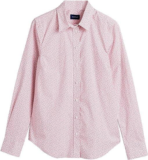 GANT - Camisa para mujer con estampado de flores Rosa. 38: Amazon.es: Ropa y accesorios