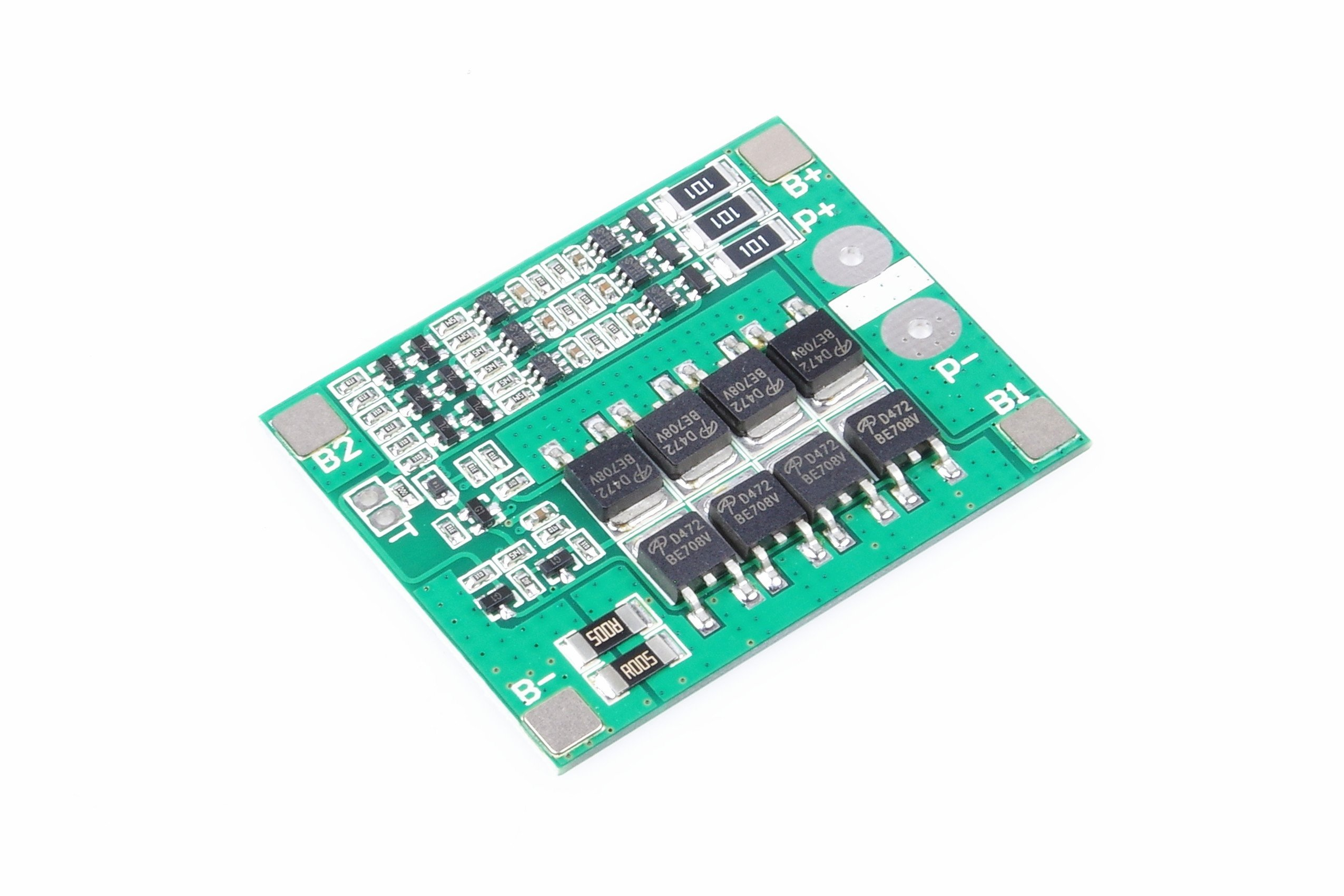 3S 12.6V 25A 18650 Lithium Battery Protection Board 11.1V 12.6V High Current With Balanced Circuit Over Charge Over Discharge Over Current And Short Circuit Protection Function