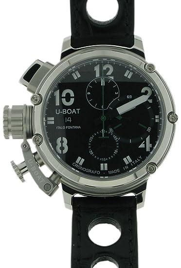 U-Boat U-51 Chrono 46 6495 - Reloj para hombres, correa de