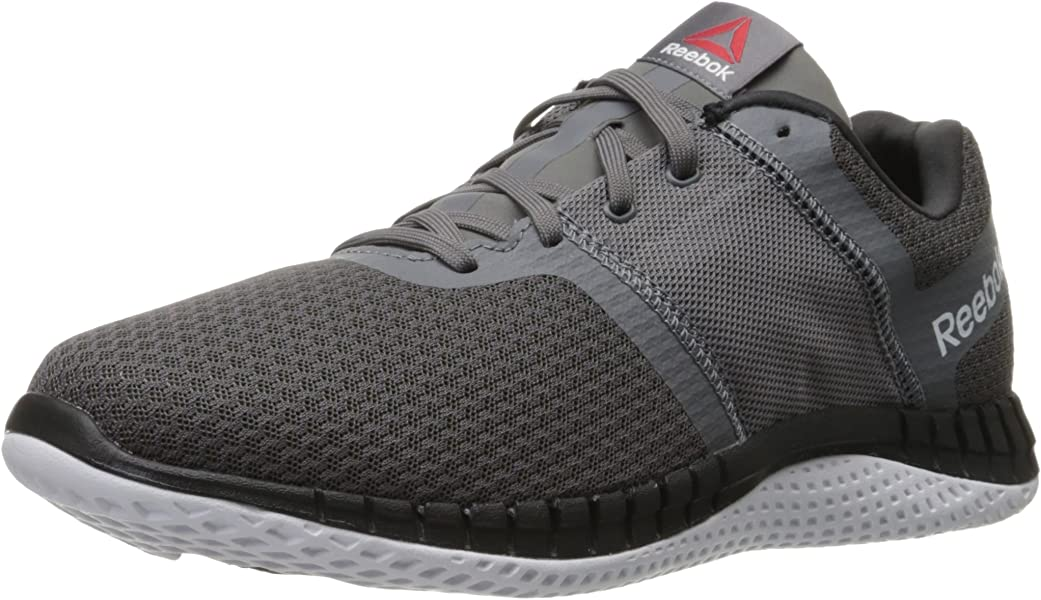 520fd7f8952e7 Amazon.com | Reebok Men's Zprint Run EX Running Shoe, Ash Grey/Shark ...