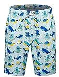APTRO Board Shorts Hwp012 XL Octopus-no mesh