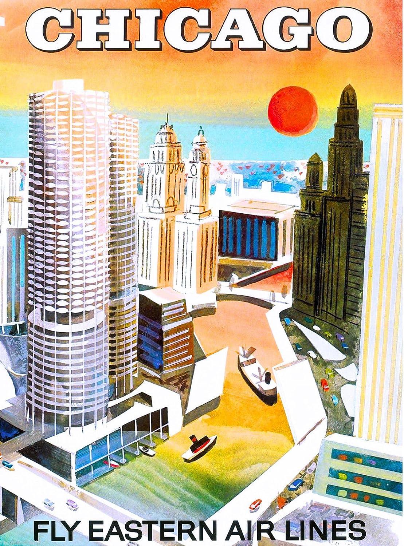 Chicago Illinois Poster
