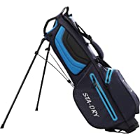 STA-DRY 100% Waterproof Golf Stand Bag 2018 - Navy and Electric Blue