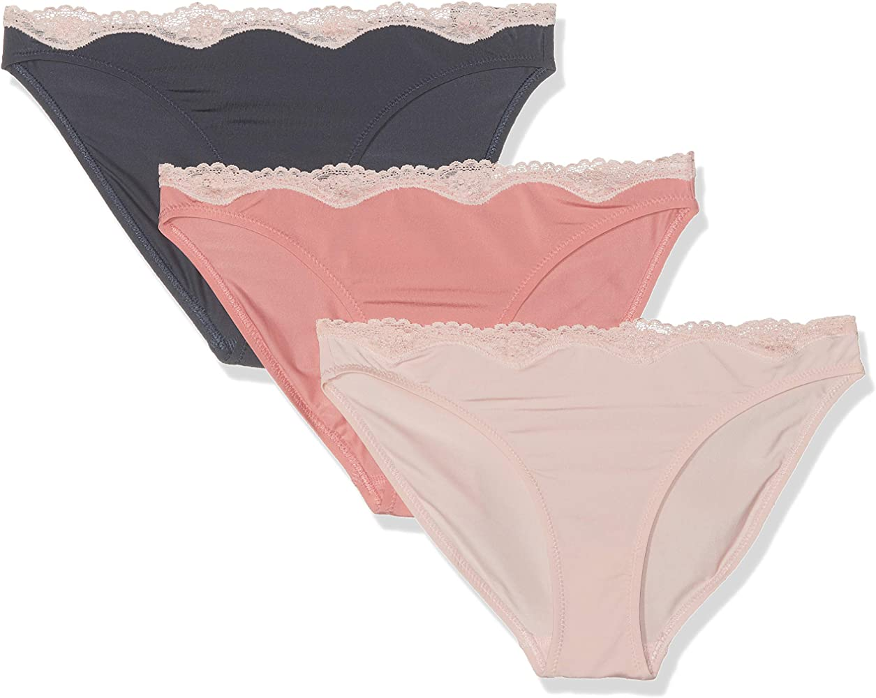 Schiesser Multipack Mini (3er Pack) Bragas Mujer, Multicolor ...