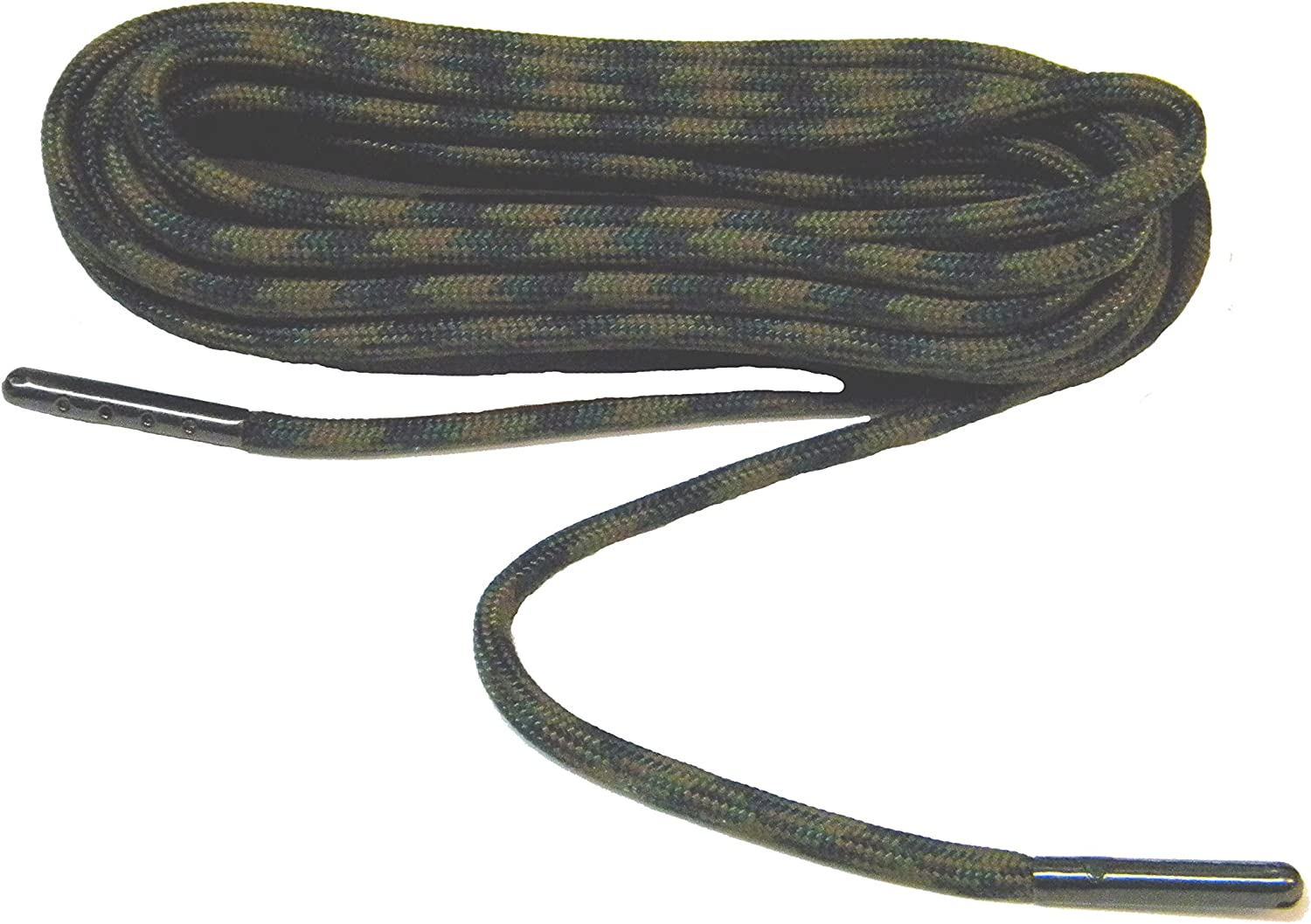 Desert Camo Boot Laces *Guaranteed for Life* 3mm Paracord Steel Tip Shoelaces