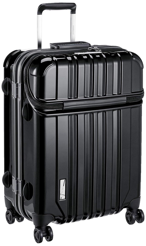 [トラベリスト] スーツケース トップオープン トラストップ 63L 62cm 4.9kg 76-20410  ブラック B07FPPKM8H