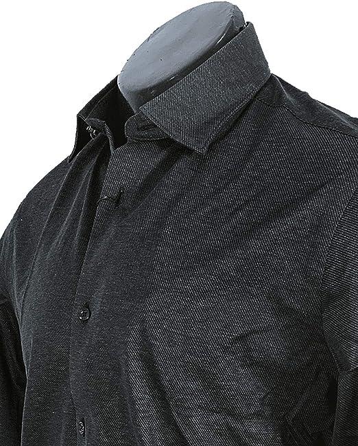 MASSIMO DUTTI Men 0165/365/800 - Camisa de algodón Ajustada ...