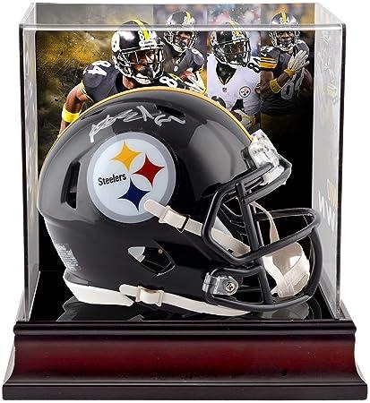 d8bfbc2a29c Antonio Brown Pittsburgh Steelers Autographed Riddell Speed Mini Helmet  with Deluxe Mini Helmet Case - Fanatics