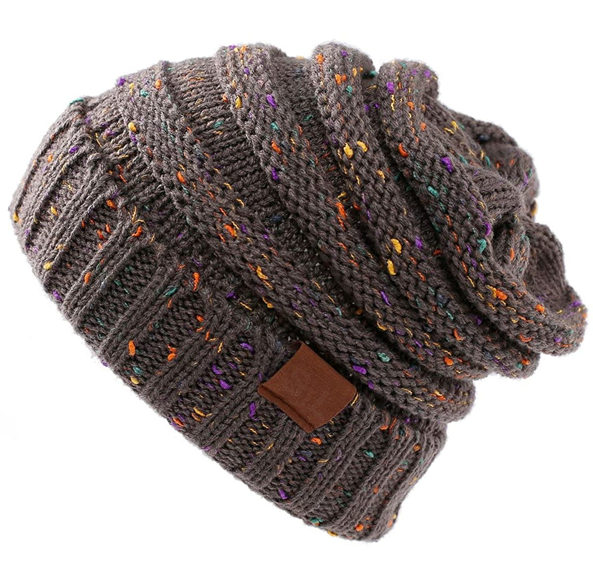 SEALEN Cotton Confetti Exclusive Oversized Baggy Slouchy Thick Hat ... b3bfabc6da6c8