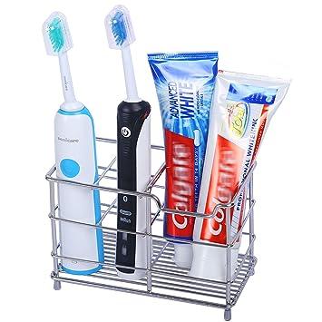 Amazon.com: Soporte para cepillo de dientes WEBI de acero ...