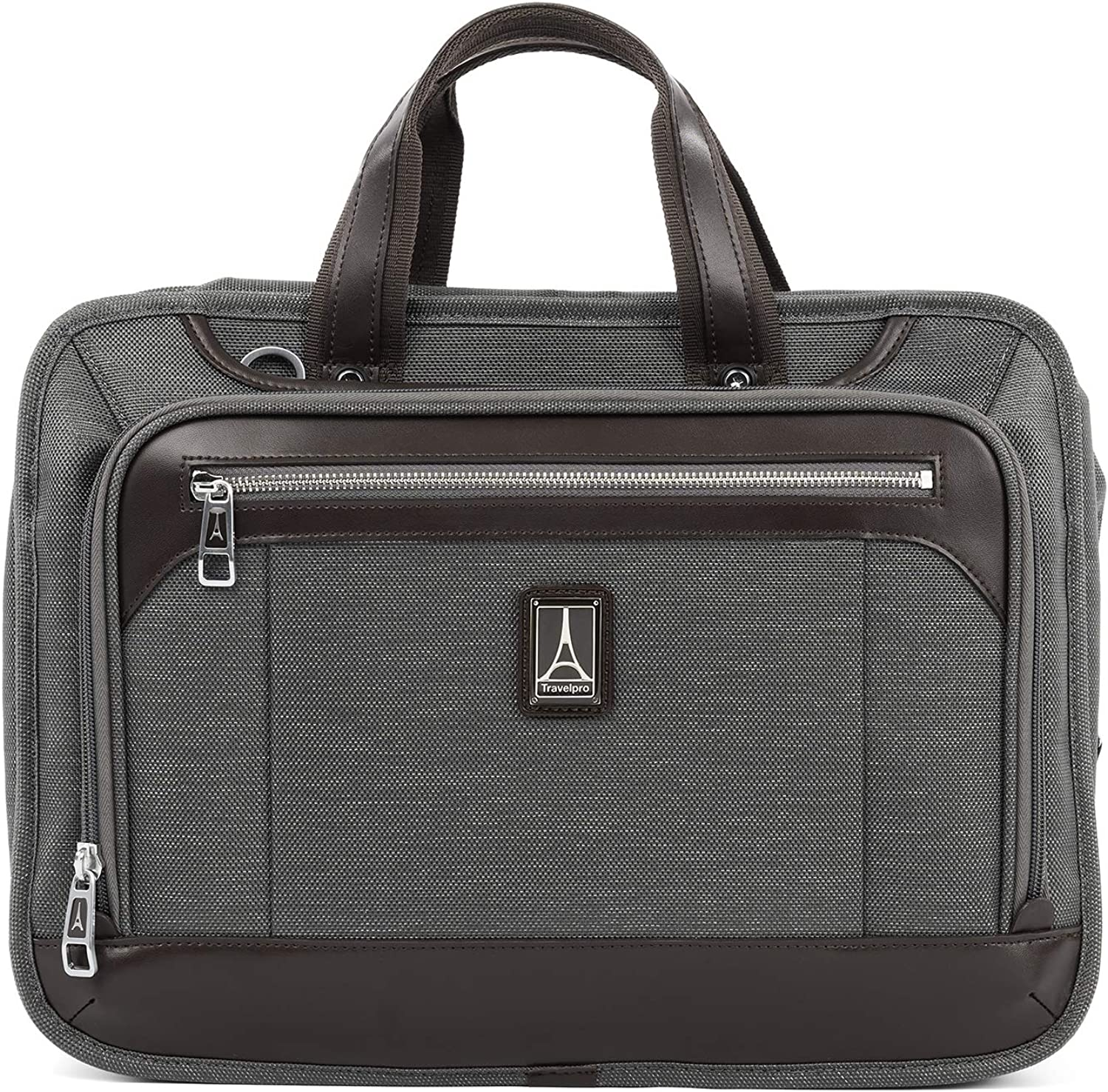 "Travelpro Brief Luggage Platinum Elite 16"" Expandable Business Briefcase"