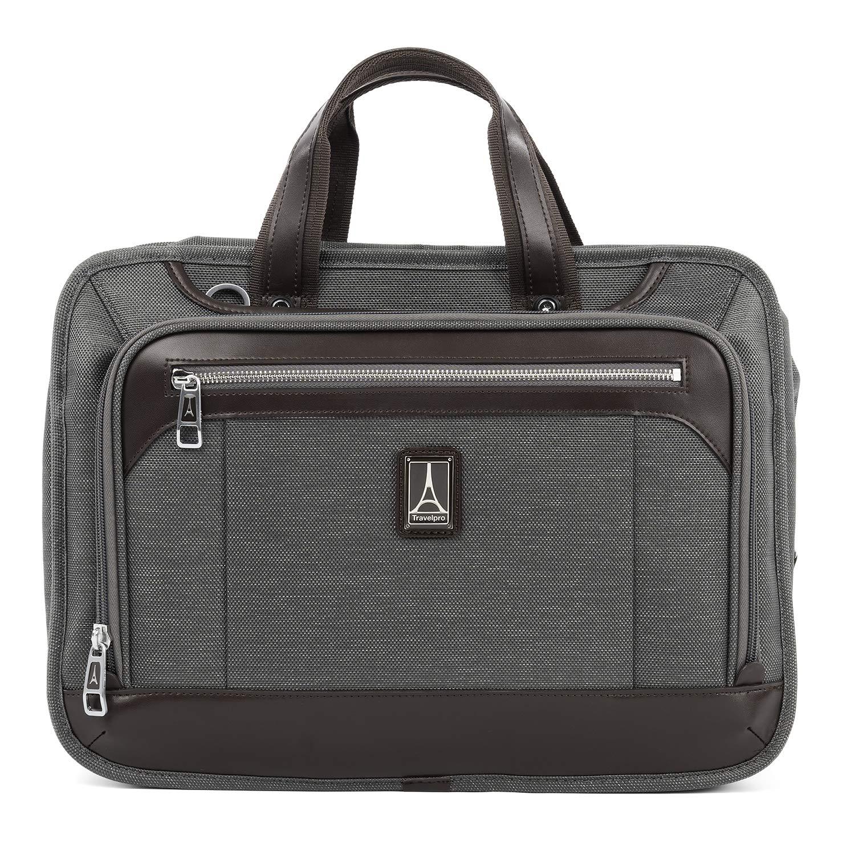 "Travelpro Brief Luggage Platinum Elite 16"" Carry-on Slim Business Computer Briefcase"