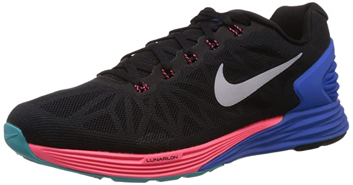 sale retailer f05dd 06692 Nike Men s Lunarglide 6 Running Shoes  Amazon.co.uk  Shoes   Bags