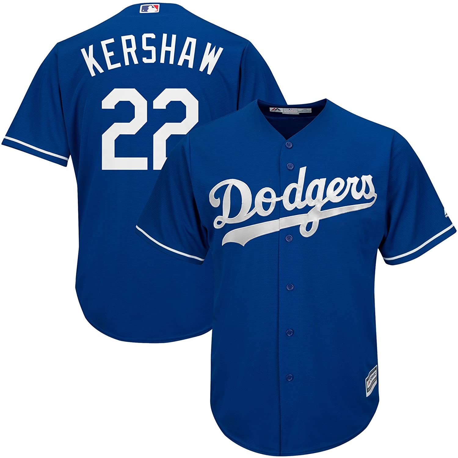 Amazon.com   Clayton Kershaw Los Angeles Dodgers Blue MLB Youth Cool Base  Alternate Replica Jersey (Youth Small 8)   Sports   Outdoors 20d92e14f49