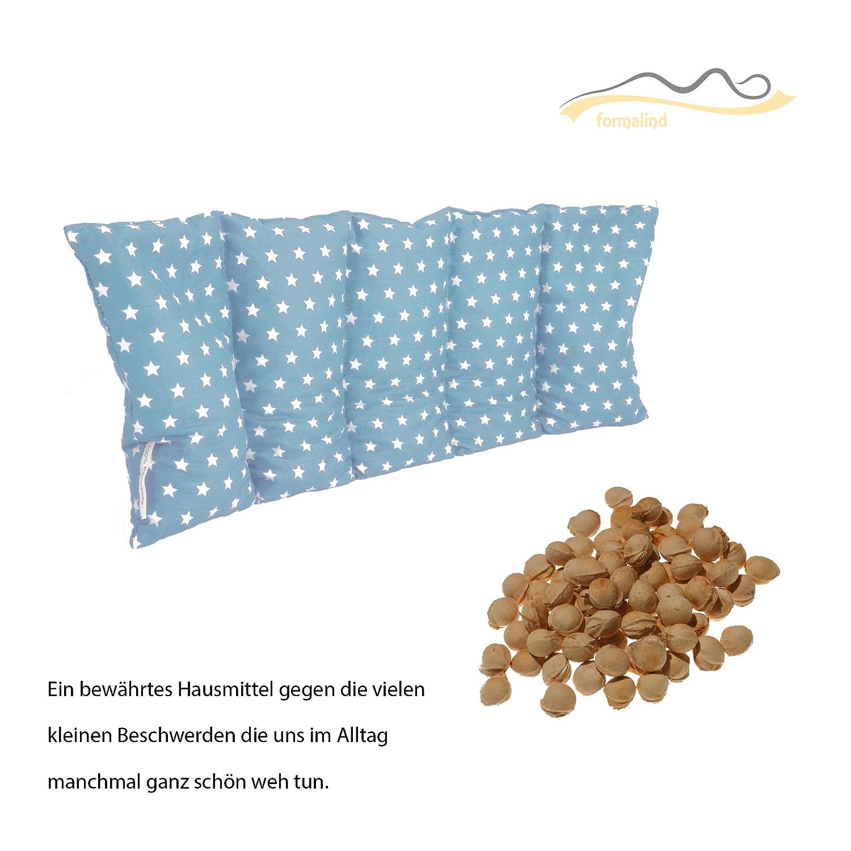 Coussin chauffant mis /à l/'/épreuve des micro-ondes coussin chauffant Coussin /à base de noyaux de cerises//Coussin de relaxation pour le traitement thermique bleu ciel
