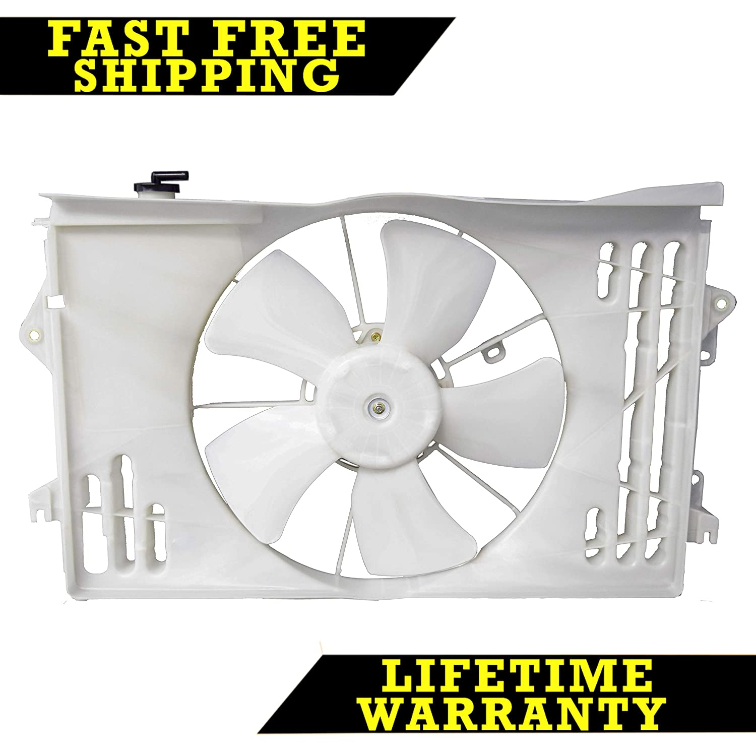 RADIATOR CONDENSER COOLING FAN FOR PONTIAC TOYOTA FITS COROLLA 1.8 TO3115125 Sunbelt Radiators