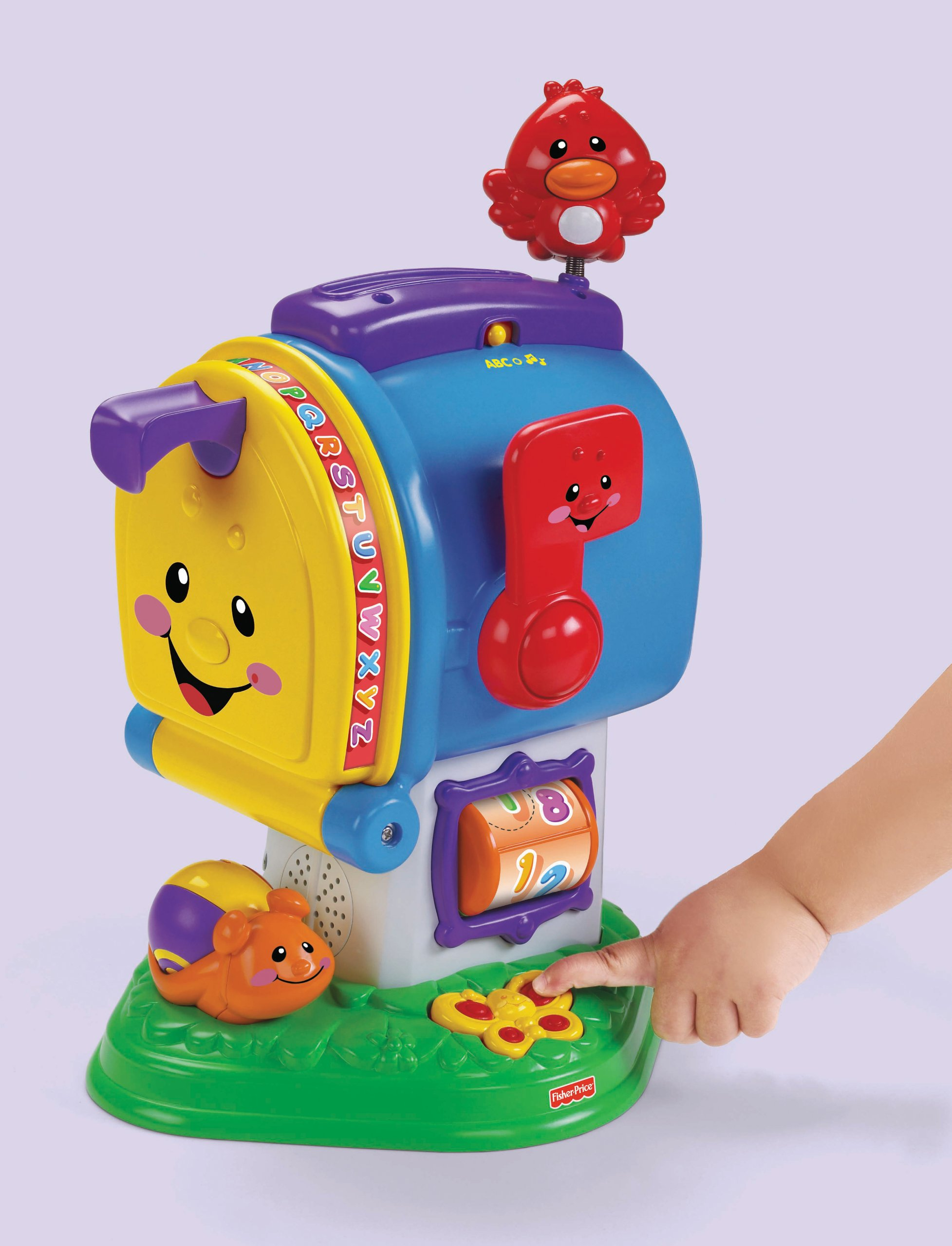 Fisher-Price Laugh & Learning Letters Mailbox by Fisher-Price (Image #8)
