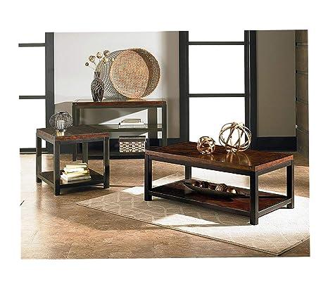 Amazon.com: Wood & Style Furniture Mackenzie Coffee Table 48 ...