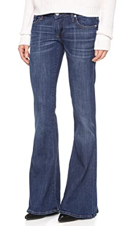 Amazon.com: True Religion Women's Karlie Bell Bottom Jeans: Clothing