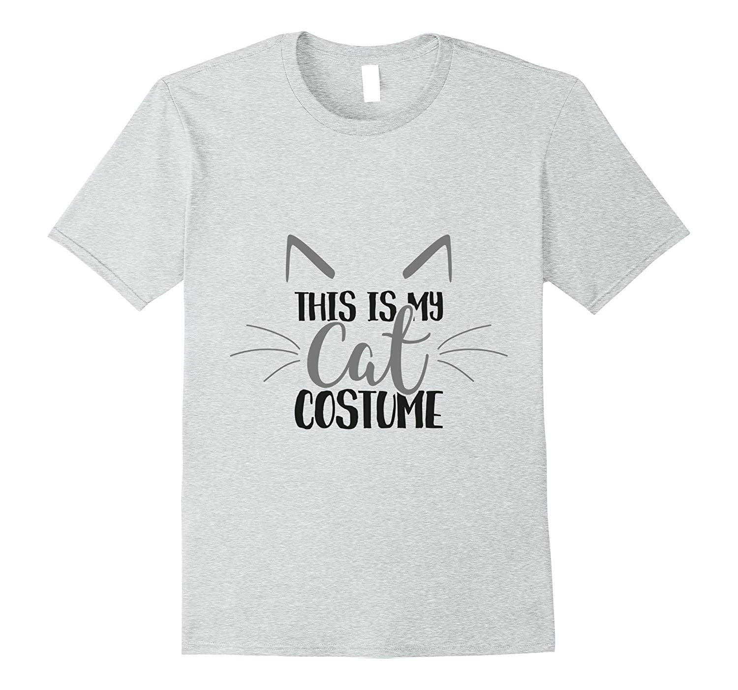 This Is My Cat Costume T-Shirt - Perfect for Cat Lovers-FL