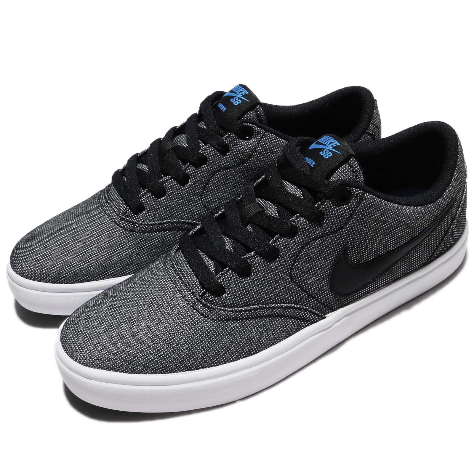 Nike Mens Check Solar Solar Sole Skateboarding Shoes Black 4.5 Medium (D) by Nike (Image #8)