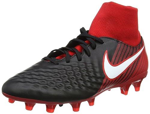 promo code c2d7e 4fba4 Nike Men s Magista Onda Ii Df Fg Football Boots, (Black University Red