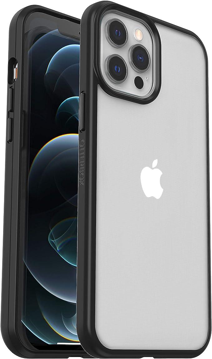 Otterbox Sleek Case Transparente Sturzsichere Schutzhülle Für Apple Iphone 12 Pro Max Transparent Schwarz Ohne Einzelhandelsverpackung Elektronik