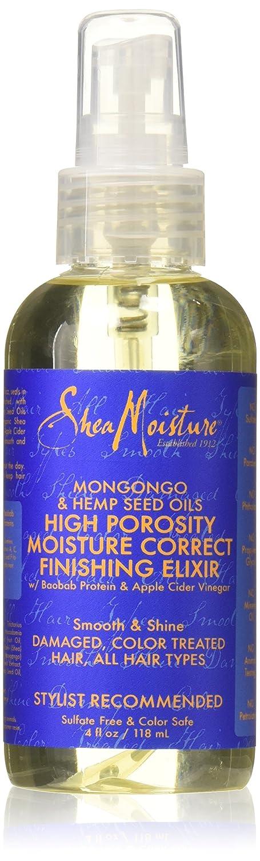 Shea Moisture Mongongo & Hemp Seed Oils High Porosity Moisture-Seal Finishing Elixir