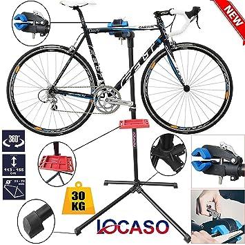 LOCASO Safekom - Kit de Herramientas para Bicicleta, Plegable, Resistente, para Reparación de