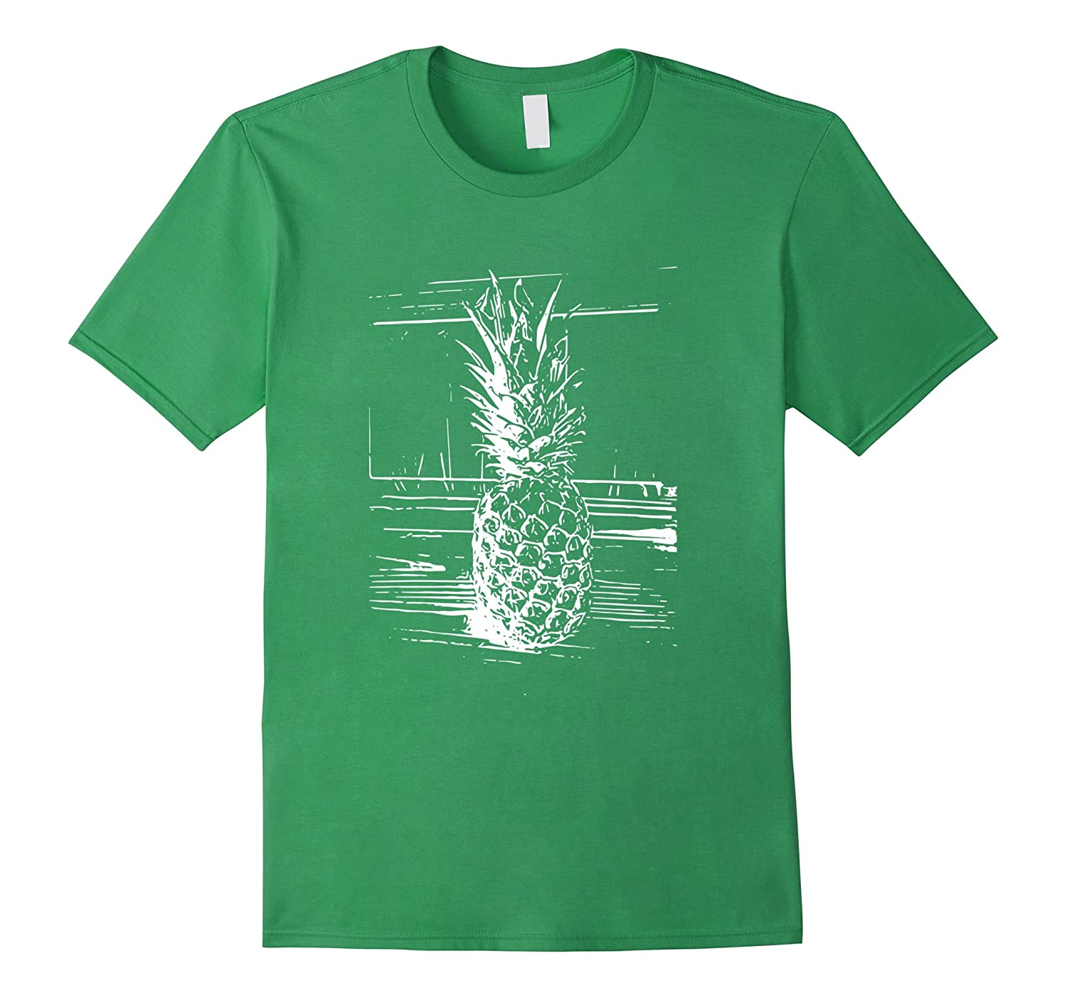 b1441afa0472 Fun Pineapple Fruit T-Shirt Summer Picnic Pineapple Tee-TH - TEEHELEN