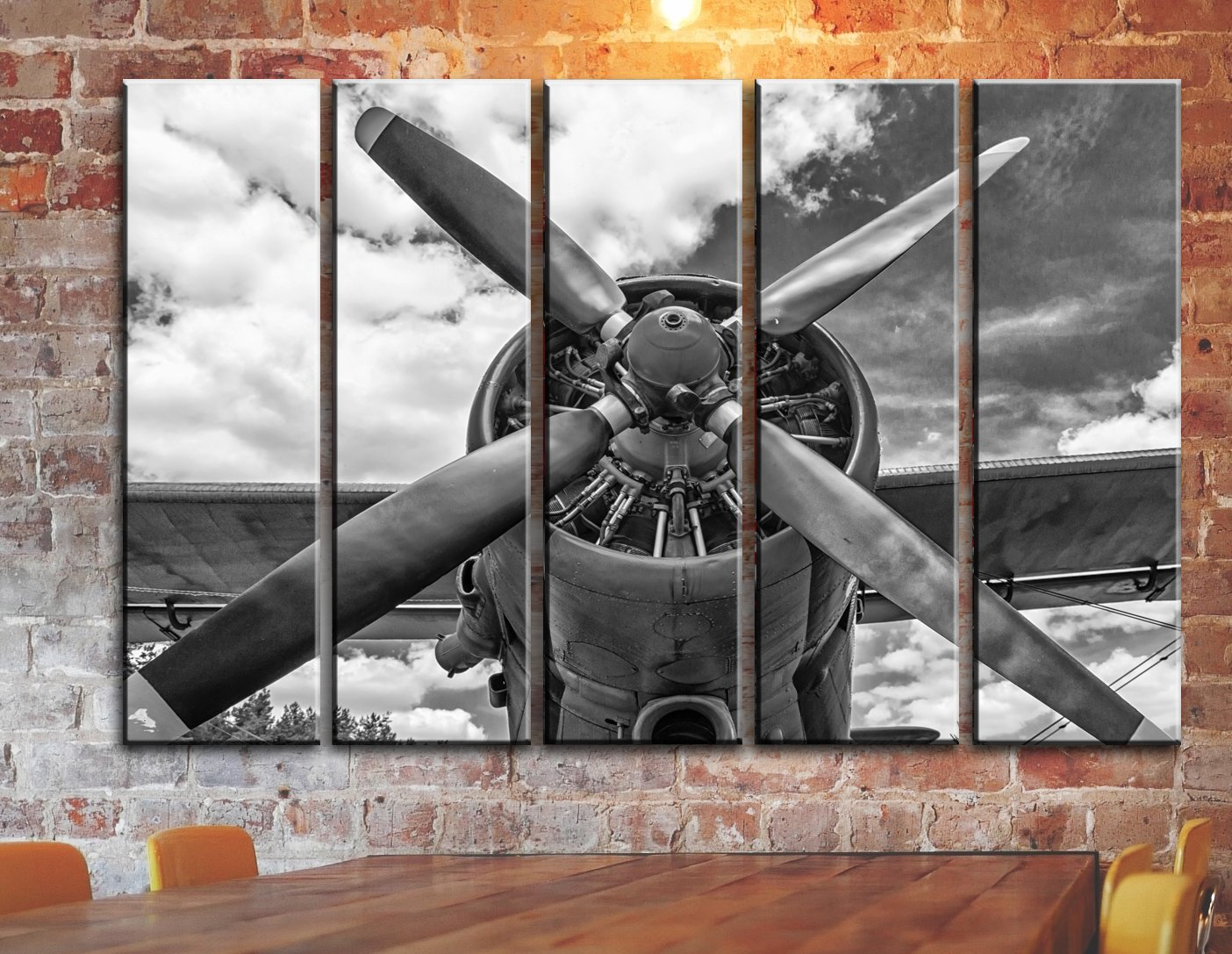 Amazon large set airplane canvas wall art aircraft canvas amazon large set airplane canvas wall art aircraft canvas wall art old plane propeller canvas picture vintage aviation wall decoration multi amipublicfo Choice Image